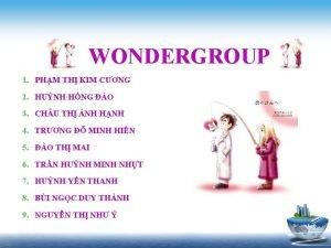 WONDERGROUP 1 PHM TH KIM CNG 2 HUNH