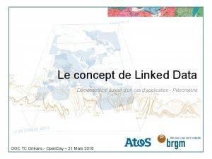 Le concept de Linked Data Dmonstration autour dun