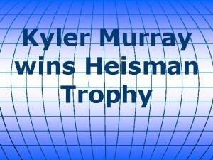 Kyler Murray wins Heisman Trophy Oklahoma twosport star