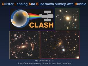 Cluster Lensing And Supernova survey with Hubble Marc