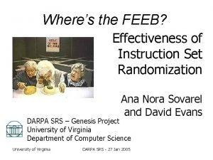 Wheres the FEEB Effectiveness of Instruction Set Randomization