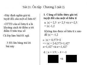 Tit 21 n tp Chng I tit 2