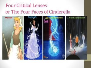 Four Critical Lenses or The Four Faces of