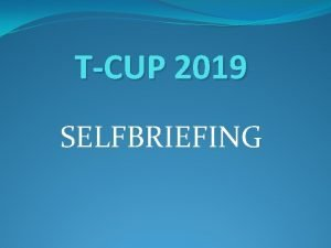 TCUP 2019 SELFBRIEFING CONTEST AREA AIRSPACE SOUTN OBLAST