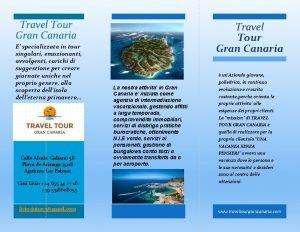 Travel Tour Gran Canaria E specializzata in tour