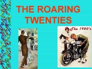 THE ROARING TWENTIES SECTION 1 AMERICAN POSTWAR ISSUES