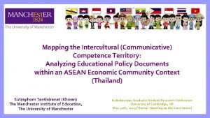 Mapping the Intercultural Communicative Competence Territory Analyzing Educational