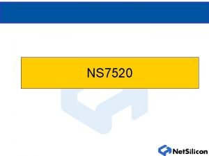 NS 7520 NS 7520 177 Pin Plastic BGA