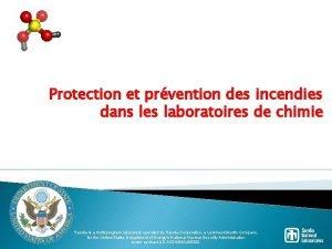 Protection et prvention des incendies dans les laboratoires