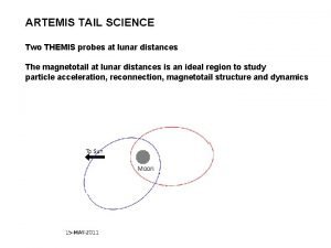 ARTEMIS TAIL SCIENCE Two THEMIS probes at lunar