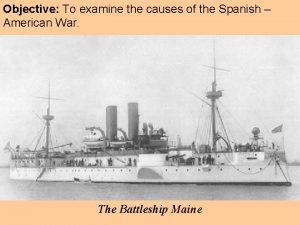Objective To examine the causes of the Spanish