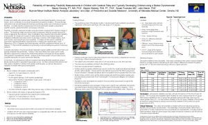 Reliability of Hamstring Flexibility Measurements in Children with