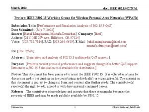 March 2002 doc IEEE 802 15 02297 r