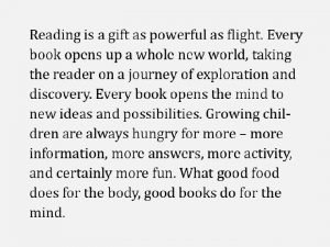 Making Libraries Active Hippocampus Reading Foundation HRF HRF