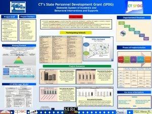 CTs State Personnel Development Grant SPDG CT SPDG