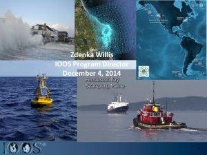 Zdenka Willis IOOS Program Director December 4 2014