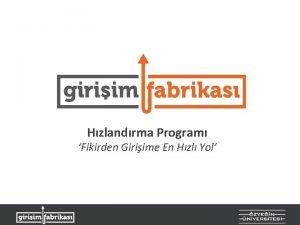 Hzlandrma Program Fikirden Giriime En Hzl Yol Giriim