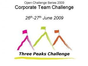 Open Challenge Series 2009 Corporate Team Challenge 26