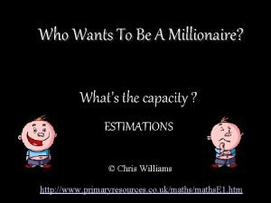 Who Wants To Be A Millionaire Whats the