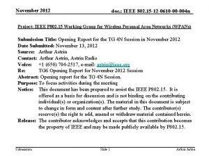 November 2012 doc IEEE 802 15 12 0610