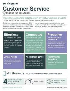 Customer Service Imagine the possibilities Increase customer satisfaction