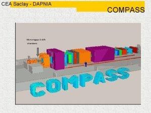 CEA Saclay DAPNIA Micromegas drift chambers COMPASS CEA