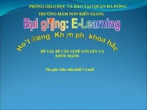 PHNG GIO DC V O TO QUN H