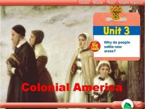 Why do people settle new areas Colonial America