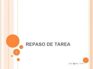 REPASO DE TAREA 3 PROYECTO LIDERAZGO CAPTULO 4