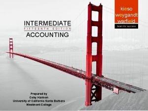 INTERMEDIATE Intermediate ACCOUNTING Intermediate Accounting F I F