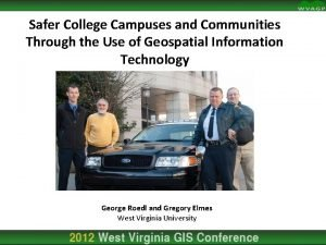 Safer College Campuses and Communities Through the Use