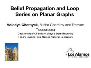 Belief Propagation and Loop Series on Planar Graphs
