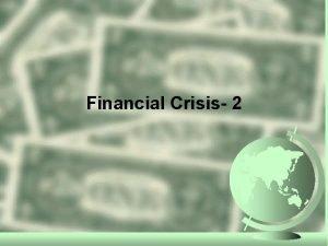Financial Crisis 2 Great Depression Financial Regulation Stock