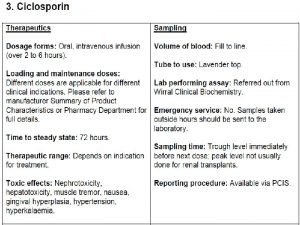 CALCINEURIN INHIBITORS Specific Tcell inhibitors Cyclosporine It is