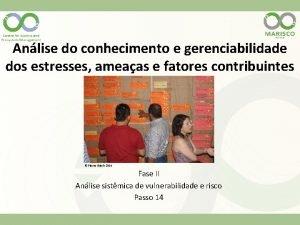 Anlise do conhecimento e gerenciabilidade dos estresses ameaas