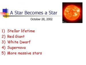 A Star Becomes a Star October 28 2002