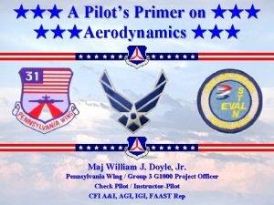 A Pilots Primer on Aerodynamics Maj William J