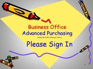 Business Office Advanced Purchasing Hosted By MNPS Business