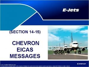 SECTION 14 15 CHEVRON EICAS MESSAGES Section 14