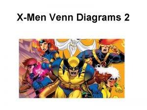 XMen Venn Diagrams 2 Wolverine may be a
