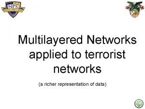 Multilayered Networks applied to terrorist networks a richer