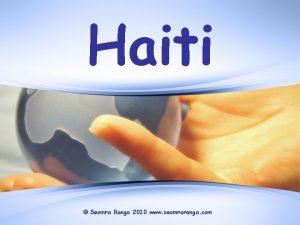 Haiti Seomra Ranga 2010 www seomraranga com Haiti