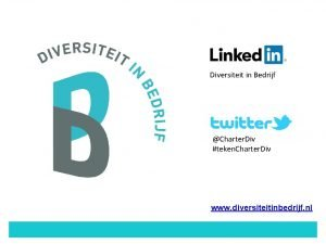 Diversiteit in Bedrijf Charter Div teken Charter Div