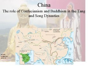 China The role of Confucianism and Buddhism in