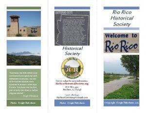 Rio Rico Historical Society Father Kino Calabasas the