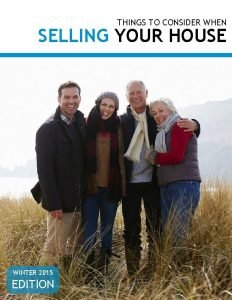 THINGS TO CONSIDER WHEN SELLING YOUR HOUSE WINTER