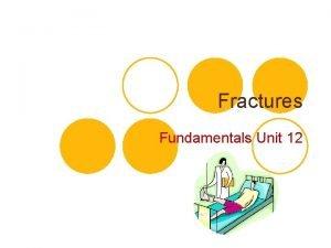 Fractures Fundamentals Unit 12 Fractures l Fracture a