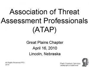 Association of Threat Assessment Professionals ATAP Great Plains