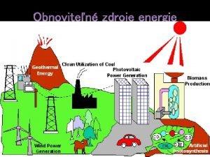 Geotermlna energia Najstaria energia na naej plante Prejav