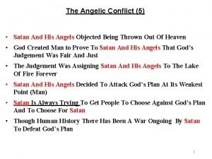 The Angelic Conflict 5 Satan And His Angels